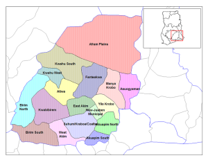 Akuapim Map