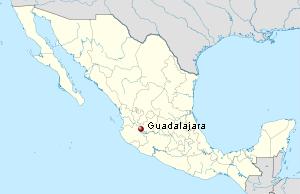 guadalajara map guadalajara picture