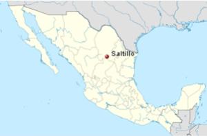 Saltillo Map
