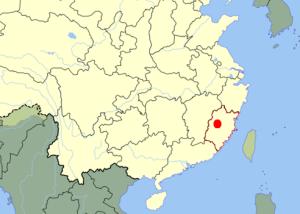 Sanming Map