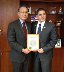 Consul General Matsuda 2013